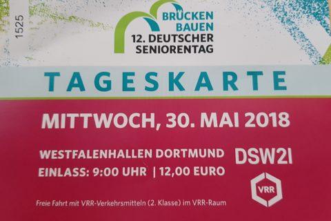 Besuch der Fachmesse zum 12. Deutschen Seniorentag in Dortmund
