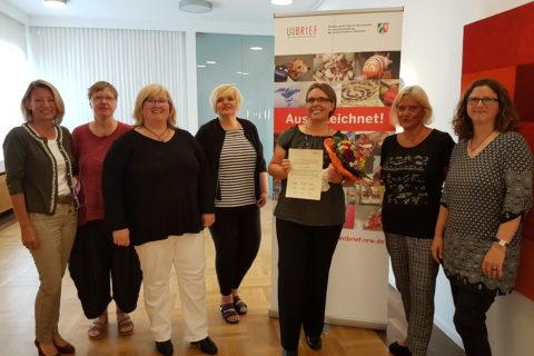 Auszeichnung mit dem Unternehmerinnenbrief NRW