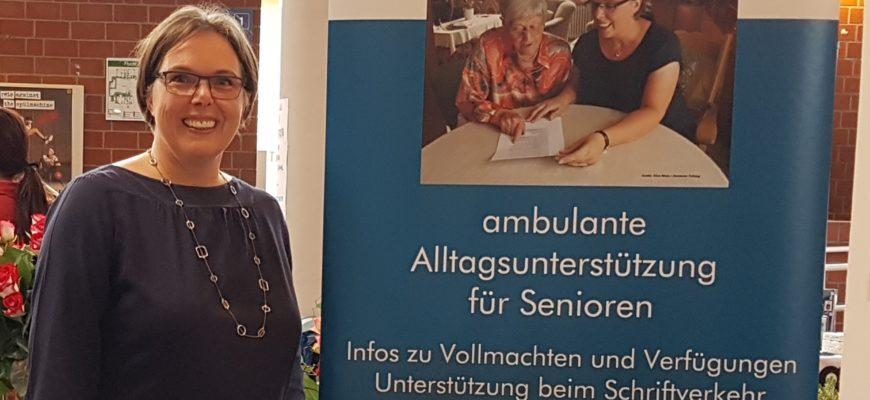 Aussteller auf der 7. Dorstener Seniorenmesse